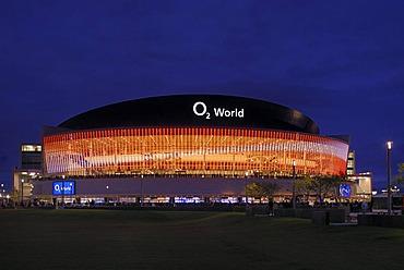 O2 World, O2-Arena stadium, Anschutz Entertainment Group company, Friedrichshain district, Berlin, Germany, Europe