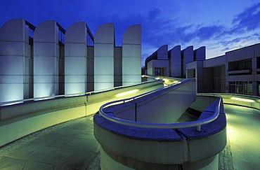 Bauhaus-Archiv, Museum of Design, designed by Walter Gropius, Tiergarten district, Germany, Europe