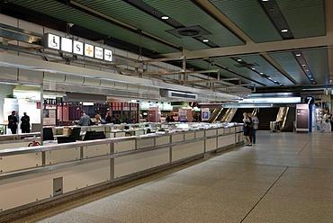 ICC International Congress Centrum, information desk, Charlottenburg district, Berlin, Germany, Europe