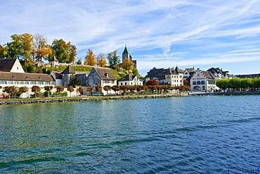 Lake Zurich, old town, castle, Rapperswil, Sankt Gallen, Switzerland, Europe