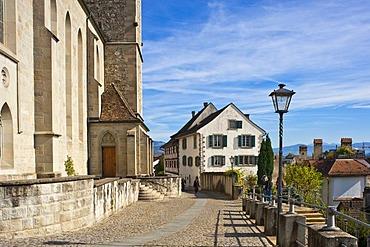 Stadtpfarrkirche parish church, Rapperswil, Sankt Gallen, Switzerland, Europe