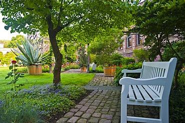 Botanical Garden, castle gardens, Karlsruhe, Baden-Wuerttemberg, Germany, Europe