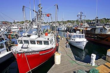 Fishing fleet, Gloucester, Massachusetts, New England, USA