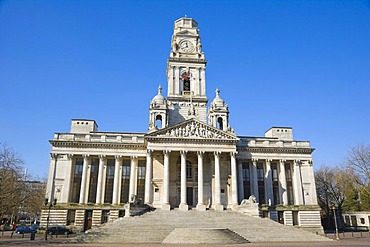 Guildhall, Portsmouth City Council, Guildhall Square, Portsmouth, Hampshire, England, United Kingdom, Europe