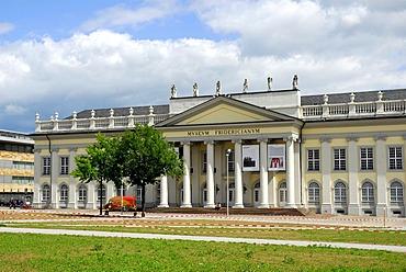 Art gallery, Fridericianum Museum, Friedrichsplatz Square, Kassel, Hesse, Germany, Europe