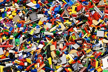 Heap of Lego bricks