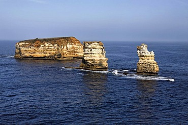 Limestone rock stacks, Great Ocean Road, Port Campbell National Park, Victoria, Australia