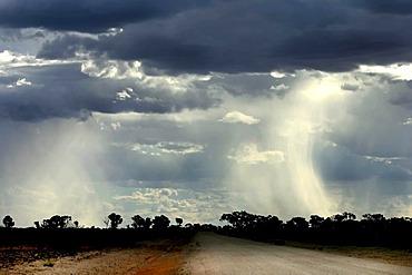 Storm in Australian outback, Northern Territory, Australia