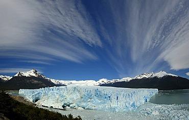 Perito Moreno Glacier with cloud formation, Patagonia, Argentina, South America