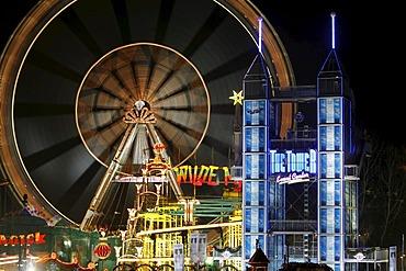 Fair at the Christmas market, Alexanderplatz Square, Berlin, Germany