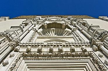 Gothic church of San Francesco alle Scale, 1323, facade by Giorgio Orsini da Sebenico, Pizzecolli street, Ancona, Marche, Italy, Europe