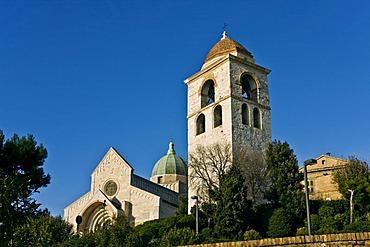 Church, Duomo of San Ciriaco, Romanesque architecture, Ancona, Marche, Italy, Europe