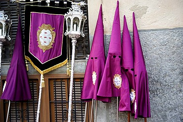 Hoods, Semana Santa, Holy Week, Palma de Majorca, Majorca, Balearic Islands, Spain, Europe
