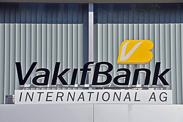 Branch of the Turkish Vakifbank in Cologne, North Rhine-Westphalia, Germany, Europe