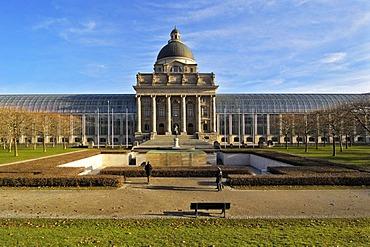 Hofgarten, State Chancellery, Munich, Bavaria, Germany, Europe