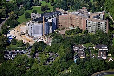 Aerial view, SignalIduna insurance company, Signal Iduna, North Rhine-Westaphalian headquarters, Dortmund, Ruhrgebiet region, North Rhine-Westphalia, Germany, Europe