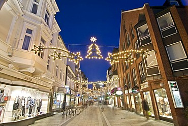 The Sachsentor at Christmas time in Bergedorf, Hamburg, Germany, Europe