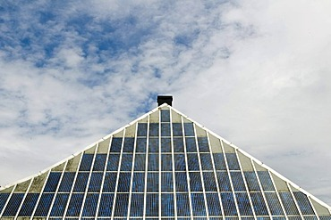 Solar panels on a farm roof, Black Forest, Baden-Wuerttemberg, Germany, Europe