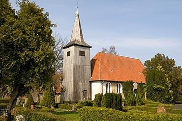 Schifferkirche mariners church in Arnis, Schlei, Schleswig-Holstein, Germany, Europe