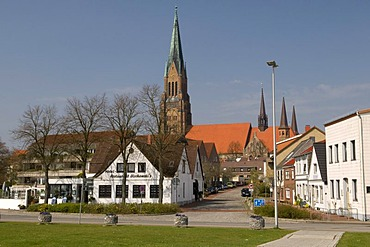 City view of Schleswig, Schleswig-Holstein, Germany, Europe