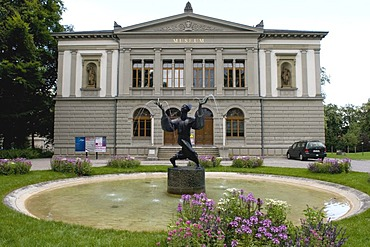 Museum of Art and Natural History Museum in St. Gallen, Switzerland, Europe