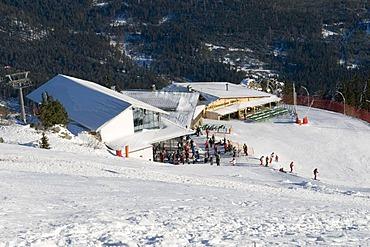 Eisensteiner Huette mountain inn at the Grosser Arber, Bavarian Forest Nature Park, Bavaria, Germany, Europe