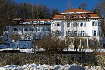 Castle and spa clinic Rabenstein, Zwiesel, Bavarian Forest, Bavaria, Germany, Europe