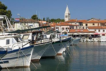 Port of Novigrad, Istria, Croatia, Europe
