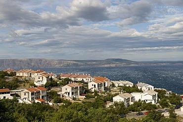 View of Kvarner Gulf at Senj, Croatia, Europe