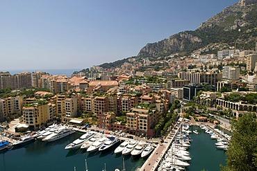 Port de Fontvieille, Monte Carlo, Cote d'Azur, Monaco, Europe