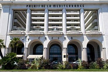 Casino Palais de la Mediterranee, Nice, Cote d'Azur, Provence, France, Europe