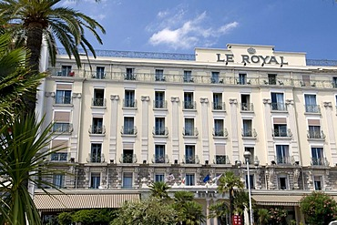 Hotel Le Royal, Nice, Cote d'Azur, Provence, France, Europe