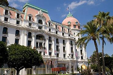 Hotel Negresco on the Promenade des Anglais, Nice, Cote d'Azur, Provence, France, Europe