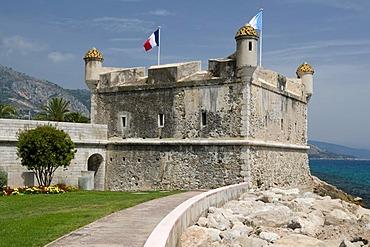 Bastion du Vieux Port fortress, Jean Cocteau Museum, Menton, Cote d'Azur, Provence, France, Europe