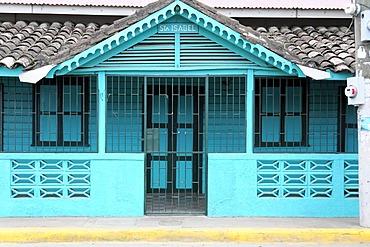House front, San Juan del Sur, Nicaragua, Central America