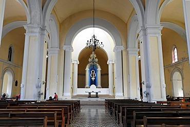 Interior, Cathedral of Granada, Granada, Nicaragua, Central America