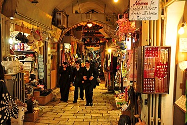 Souq, market, in the Old City of Jerusalem, Israel, Middle East, Orient
