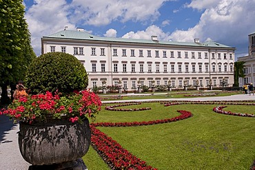 Mirabell Palace, Mirabell Gardens, Salzburg, Austria, Europe