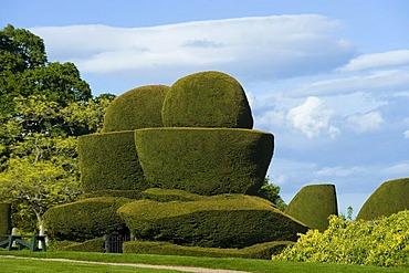 Crathes, Castle and Gardens, Scotland, United Kingdom, Europe