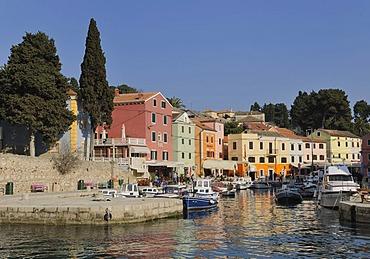 Port of Veli Losinj, Croatia, Europe