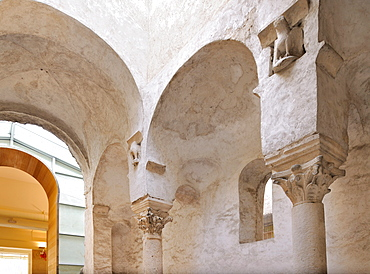 Former Church of St. Lawrence from the 11th Century in Zadar, Croatia, Europe