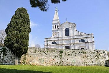 Church of Sv. Euphemia in Rovinj, Croatia, Europe