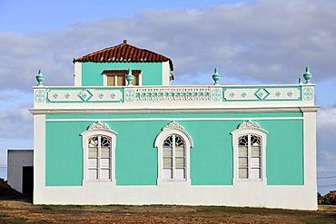 Old art nouveau villa, Antigua, Fuerteventura, Canary Islands, Spain, Europe