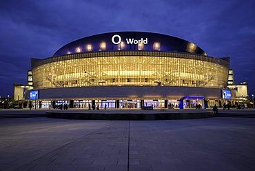 O2 World, O2 Arena of the Anschutz Entertainment Group, Berlin Friedrichshain, Germany, Europe
