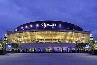 O2 World, O2 Arena stadium of the Anschutz Entertainment Group, Berlin Friedrichshain district, Germany, Europe