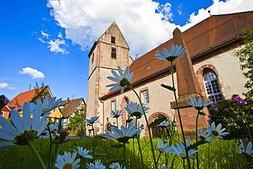 Sankt Georg church, Bad Teinach Zavelstein, Black Forest, Baden-Wuerttemberg, Germany, Europe