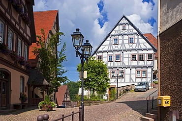 City treasury, citizens and craftsmen house, Altensteig, Black Forest, Baden-Wuerttemberg, Germany, Europe
