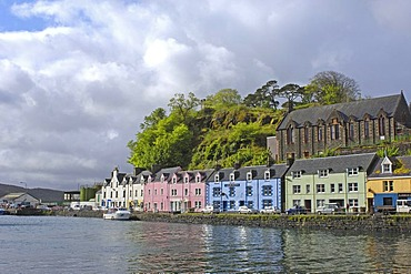 Portree, Skye Island, Highlands region, Scotland, United Kingdom, Europe