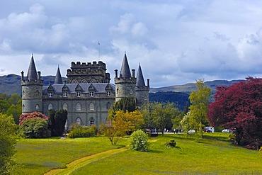 Inveraray Castle, Argyll and Bute, Scotland, United Kingdom, Europe
