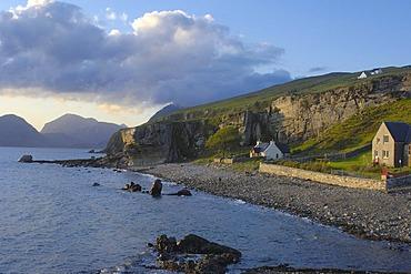 Cuillin Hills from Elgol, Isle of Skye, Western Highlands, Scotland, United Kingdom, Europe